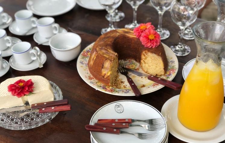 Fácil de fazer, o bolo te remete à Fazenda São Luiz da Boa Sorte.