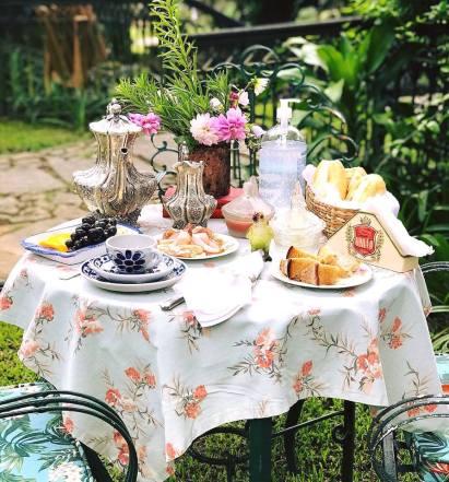 Café da Manhã e Chá da Tarde são famosos