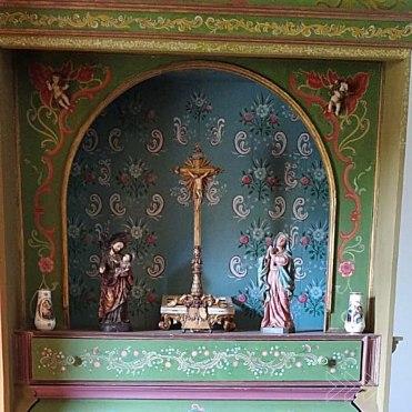Restauração foi feita por Maria Durini. Foto de André Santos