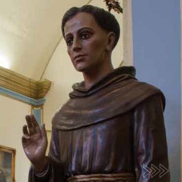 Imagem de Frei Galvão: primeiro santo brasileiro. Foto de Cristiano Mascaro