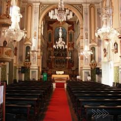 Interior da Catedral de Barra do Piraí. Foto de Bruno Maia.