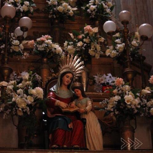 Altar da Catedral de Santana. Foto de Bruno Maia
