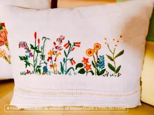 Flores são um dos motivos favoritos da Florart.