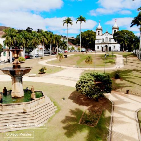 Praça Barão de Campo Belo. Foto de Diego Mendes