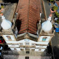 Alto da igreja de Vassouras. Foto de Diego Mendes