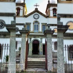 Entrada da Igreja Matriz de Vassouras. Foto de Marcus Amorim