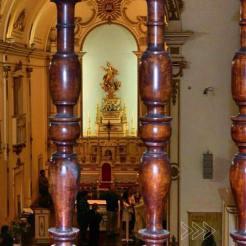 Interior da Catedral de Valença. Foto de Marcus Amorim