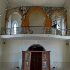 Interior da Igreja de Rio das Flores. Foto de Fernando Nascimento