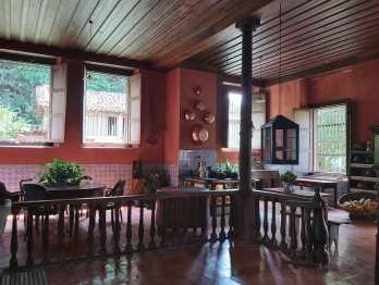 Vista da cozinha da Fazenda do Paraízo